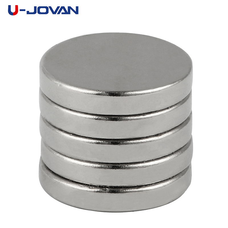 U-JOVAN 10pcs 16 X 3 Mm N35 Strong Neodymium Magnets 16mmx3mm Automobile Engine Oil Filter Strong Magnet Economizer Craft