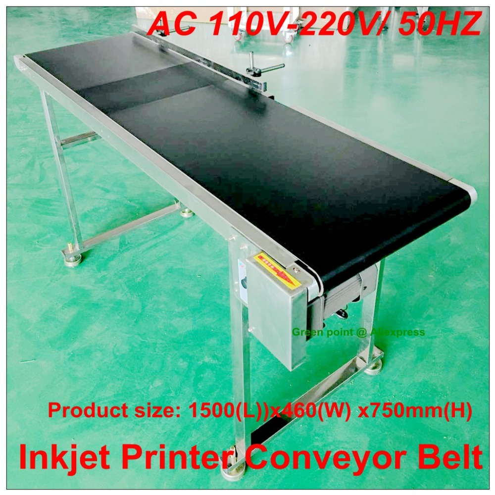 Cnc Controller 120w Inkjet Printer Conveyor Belt Conveyor Conveying Table Band Pipeline Carrier With 300mm Belt Width Back To Search Resultstools
