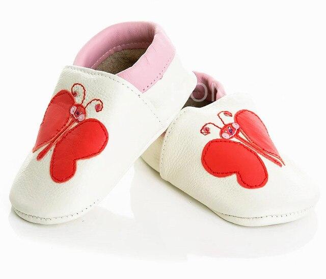 2016 de Primavera y Verano estilos calientes de la venta de alta calidad Garantizado 100% suela blanda Genuino Cuero animal print zapatos de bebé