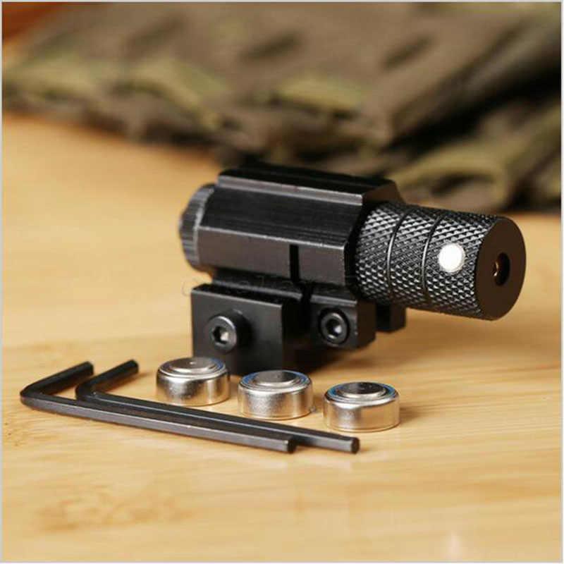 עוצמה טקטי מיני אדום דוט לייזר Sight יבר Picatinny הר סט עבור אקדח רובה אקדח Shot Airsoft Riflescope ציד