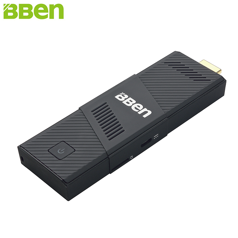 BBen Mini PC Windows 10 Ubuntu Intel Z8350 Quad Core 2GB 4GB RAM 32GB 64GB ROM