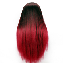 High Quality Red Hair Mannequin Hairdressing Training Head Change Color Thick