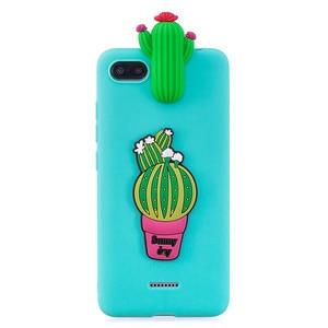 Image 2 - for Xiaomi Redmi 6A Case on for Coque Xiomi Xiaomi Redmi 5A 6A 4X 7A Case Cover 3D Unicorn Doll Toy Soft Silicone Phone Cases