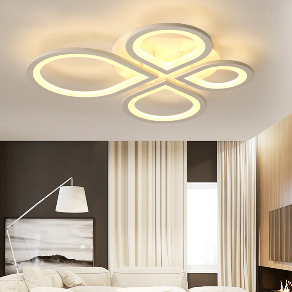 Panel Lighting Fixture Bedroom Hall Surface Mount Flush Remote ...
