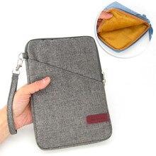 Suave mano a prueba de golpes bolsa bolsa de la manga para huawei mediapad m3 btv-w09 btv-dl09 straptablet 8.4 pulgadas cáscara de la cubierta case + stylus pen