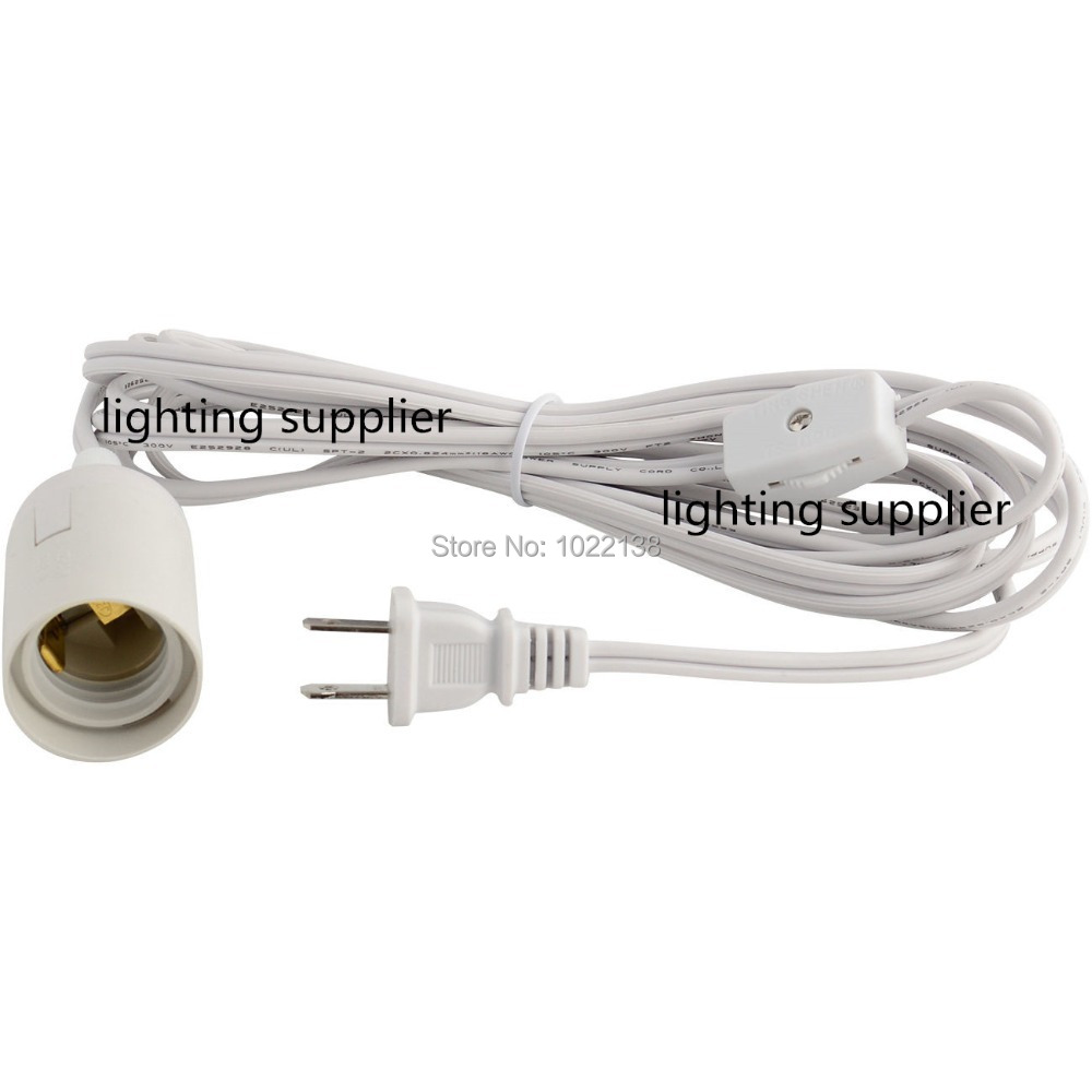 400pcs UL LED IQ Jigsaw puzzle lamp power cord with on/off gear ...