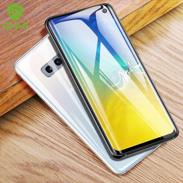 CHYI 3D kavisli Film Samsung A50 a30 Galaxy S10 5G S10 + S10E S8 S8 + S9 S9 + Not 9 10 artı ekran koruyucu değil temperli cam