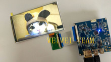 Cheap price UP to 60HZ 5.5 inch 1440p wqhd 2560×1440 vr display lcd screen with hdmi to mipi for 3d vr glasses diy 3d printer raspberry pi 3