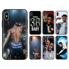 youngboy never broke again Black Soft Cases for Apple iPhone 7 8 Plus 6 6S X XR XS MAX 5S SE Silicone phone case