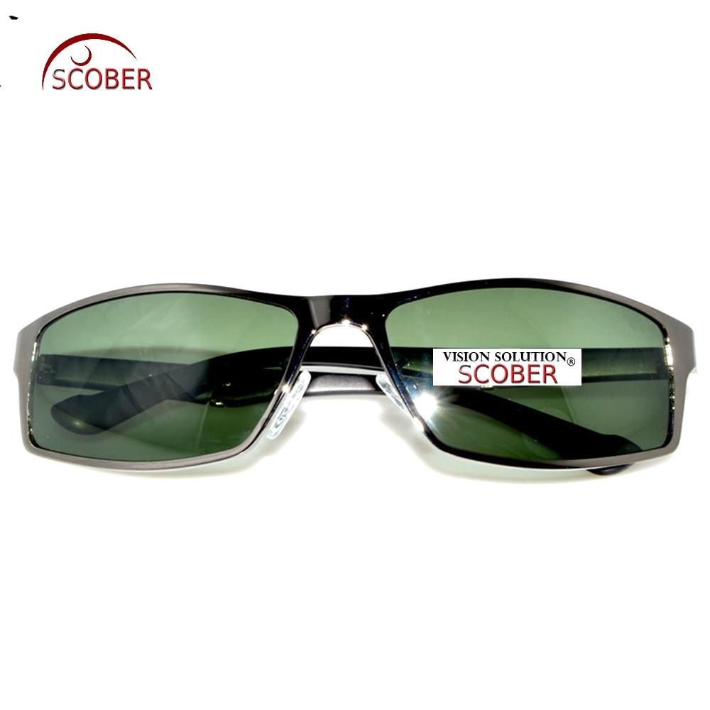 = SCOBER = TR90 Temple Designers Polarisierte Sonnenbrille Grau Braun - Bekleidungszubehör - Foto 5