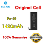 10pcs--(Original Cell)--For iPhone 4 4G li-ion Battery 0 Cycle New 1420mAh 3.8V Internal Replacement Lifetime Warranty