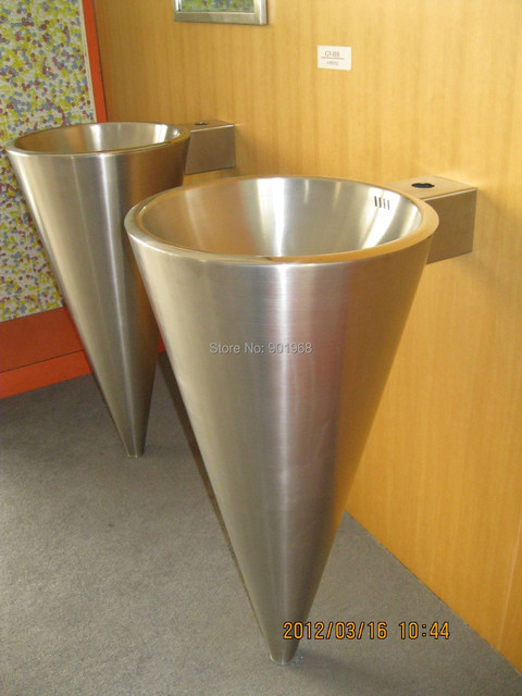 Home Hotel Bar School Cone Shape Round Stainless Steel