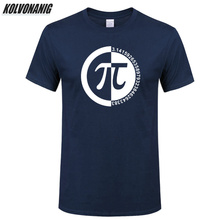2019 Brand Man Clothes Creative Design Joke Humor Classical PI Number Printed T Shirt High Quality 100% Cotton Oversized