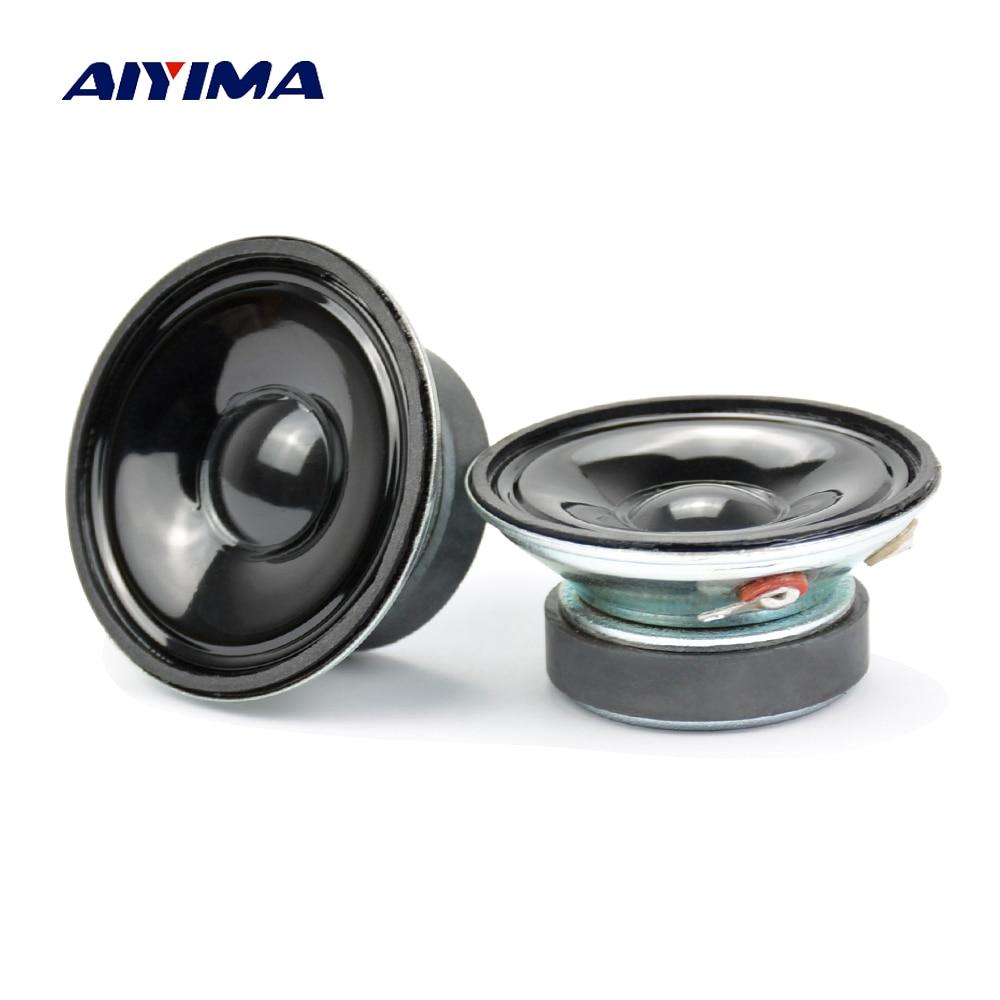 Aiyima 2Pcs Waterproof Mini Portable Tweeters Loudspeakers LS57W-2F 2.25 Inch 8 Ohm 4 W Speakers Alarm Speaker