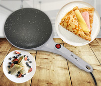 SOKANY Electric Crepe Maker 650W Pizza Pancake Machine Non Stick Griddle Baking Pan Cake Machine Kitchen Cooking Tools