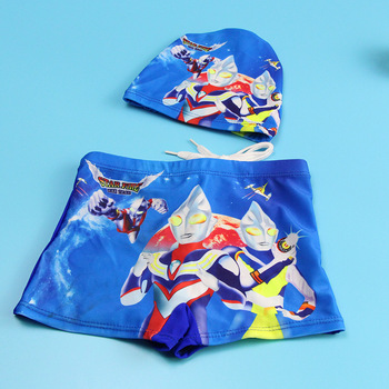 Boy Swimwear Pants ages 0 to 9 Baby Boy Kid Child Swimsuit Summer Swim Wear Shorts Cartoon Printed Toddler Swimming Trunks 2