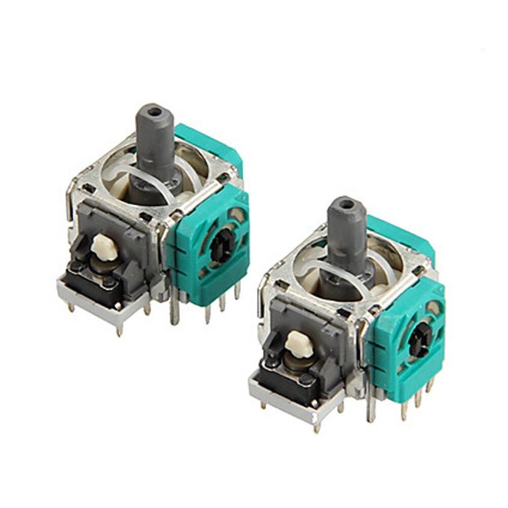 цена на  1PC 3D Analog Joystick 3 Pin Sensor Module Potentiometer with Thumb Sticks for Playstation 4 PS4 Controller Repair