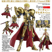 NEW hot 15cm Fate/stay night fate saber Gilgamesh movable collectors action figure toys Christmas gift doll