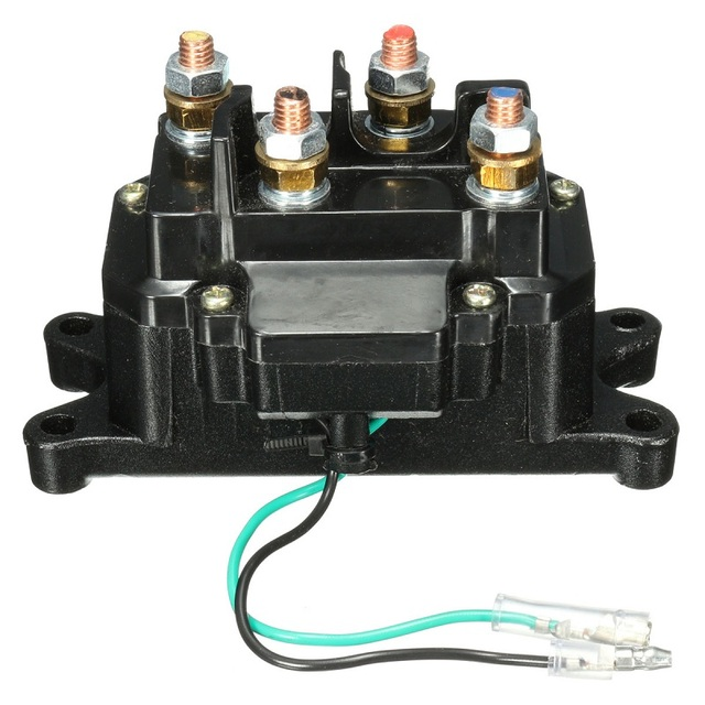 12V ATV UTV Solenoid Relay Contactor Winch Rocker Thumb Solenoid Switch Wiring Combo Black_640x640 12v atv utv solenoid relay contactor winch rocker thumb solenoid