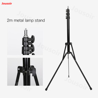 Falconeyes 2 m metal photographic light stand Photo Studio Ring Light Stand Adjustable suitable for FLC 55 CD50 T06