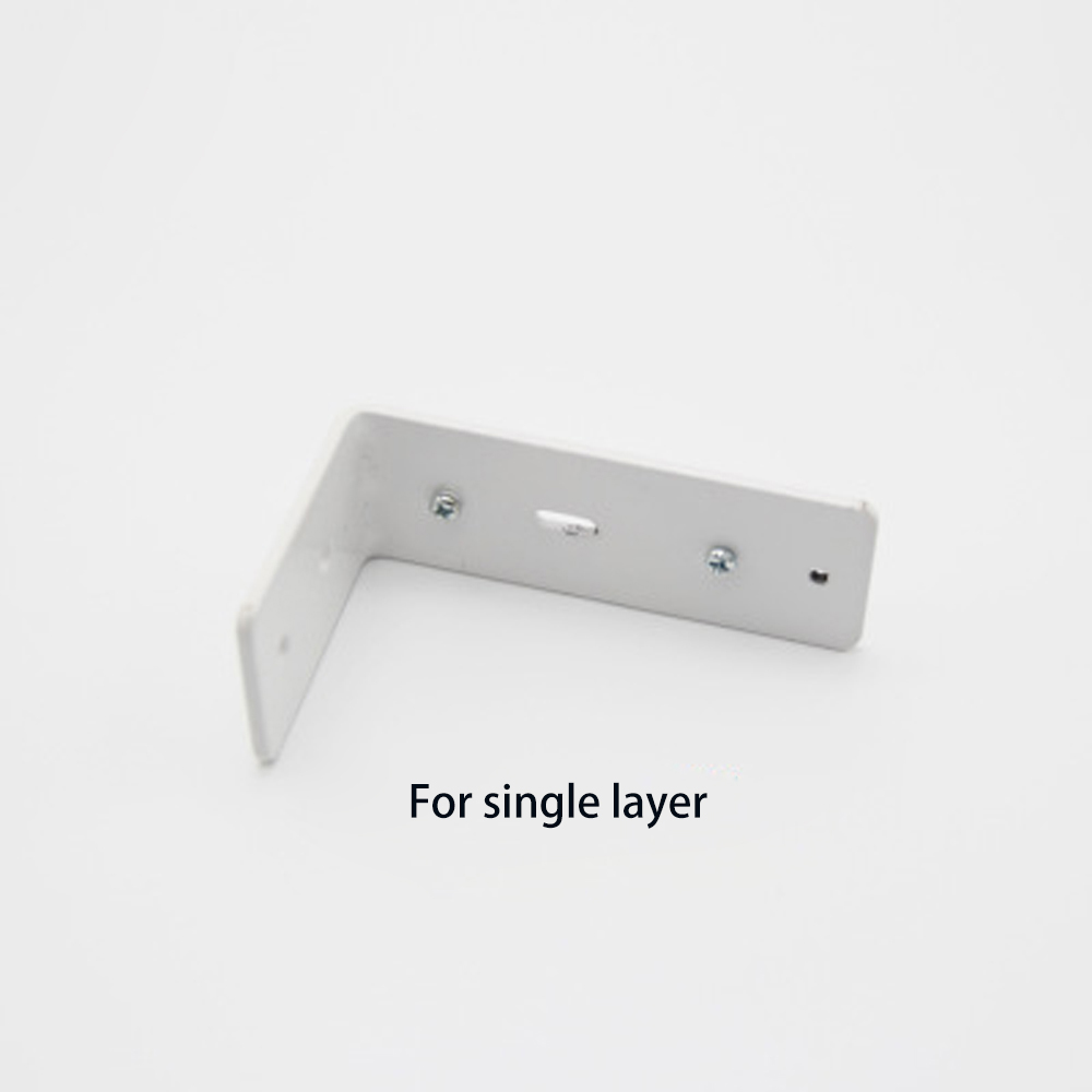 High Quality Single Or Double Side Mounting Bracket For Electronic Curtain Track Rod Home Decor