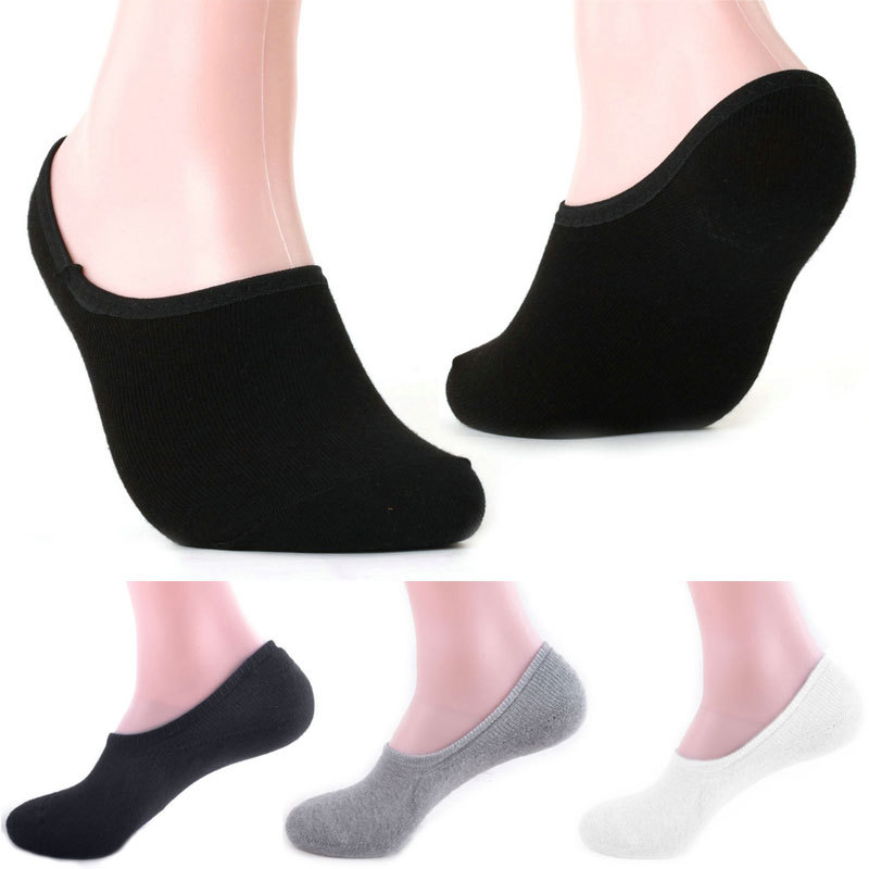 Hot sale New Mens Socks High Quality Cotton & Bamboo Casual Socks For Men Invisible Mens Sock Slippers Shallow Mouth Sock Z1