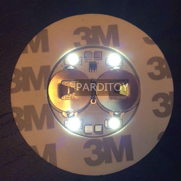 SıCAK Gece kulübü LED şişe sticker kızdırma sticker Beyaz renk - Tatiller ve Partiler Için - Fotoğraf 5