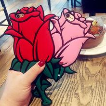 3D Rose Phone Case iPhone 5 5s 6 6s Plus 7
