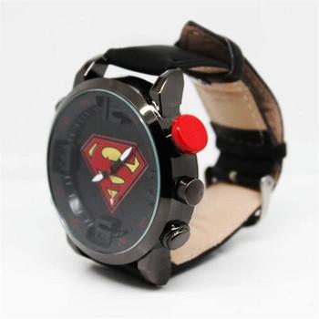 Наручные часы с логотипом Супермен 1