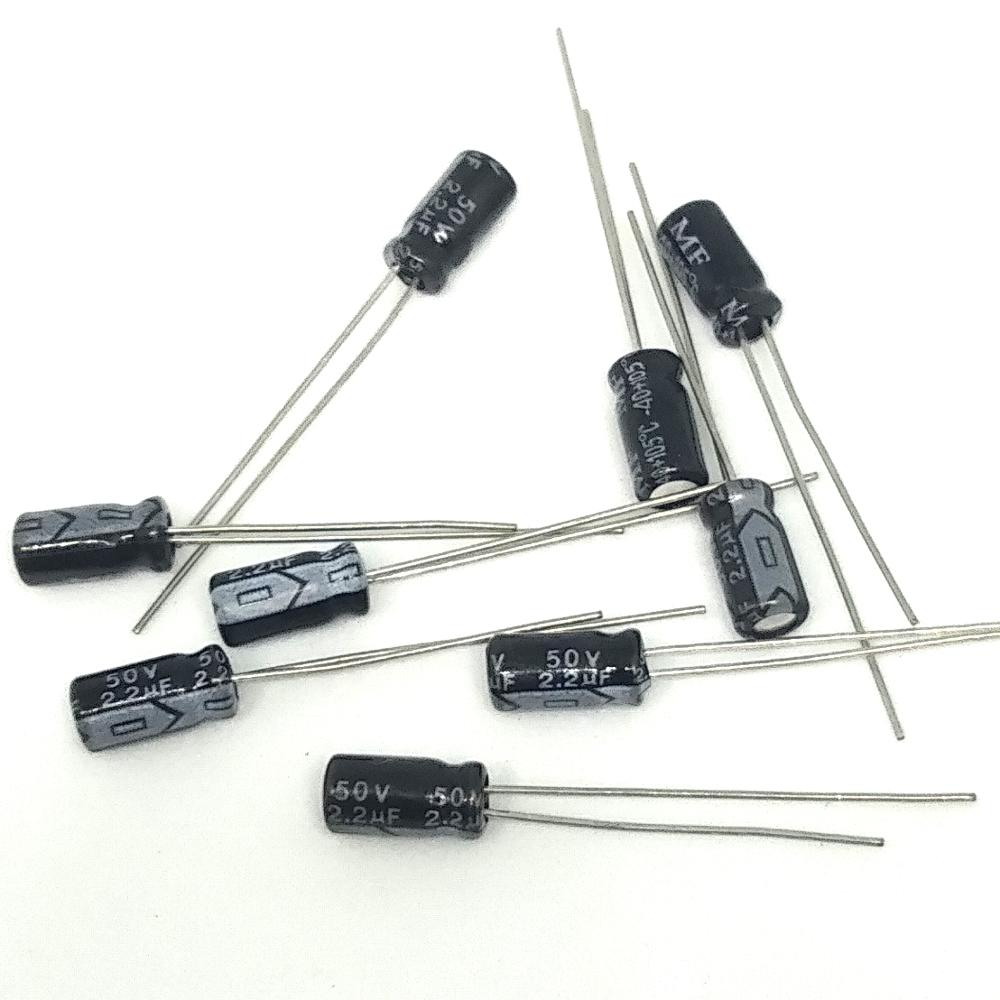 High quality electrolytic <font><b>capacitor</b></font> <font><b>2.2uf</b></font> <font><b>50V</b></font> 4x7/4*7mm Aluminum electrolytic <font><b>capacitor</b></font> 200pcs/lot ... image