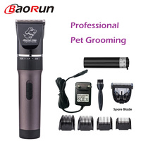 Professional Pet Hair Trimmer Electric Rechargeable Cat Dog Clipper Grooming Cutters Powerful Shaver Machine For Animal 110 240V