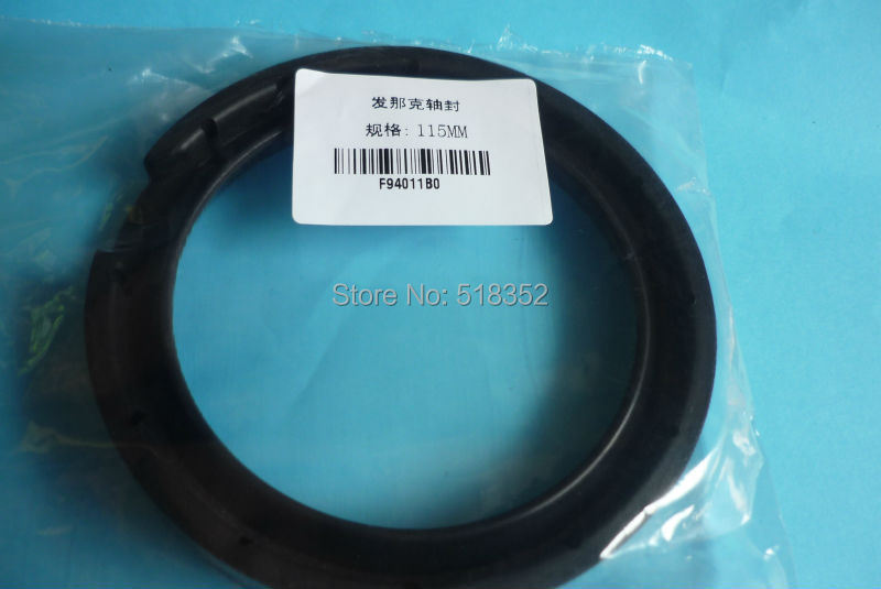 A98L-0001-0972 Fanuc F490 Lower Rotating Arm Shaft Seal OD115* 87* 14mm, DWC-0iA,0iB,0ic WEDM-LS Wire Cutting Machine Parts a290 8110 x715 16 17 fanuc f113 diamond wire guide d 0 205 255 305mm for dwc a b c ia ib ic awt wedm ls machine spare parts