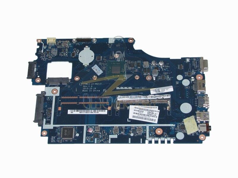 LA-A621P NBY4711002 Z5WE3 for acer aspire E1-510 laptop motherboard N2820 DDR3 laptop motherboard for aspire one 522 ao522 p0ve6 la 7072p mbsfh02001 amd c60 ddr3