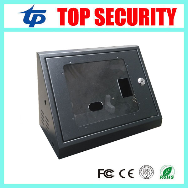New model iface302/iface502/iface702 face time attendance protect box metal box with key good quality free shipping