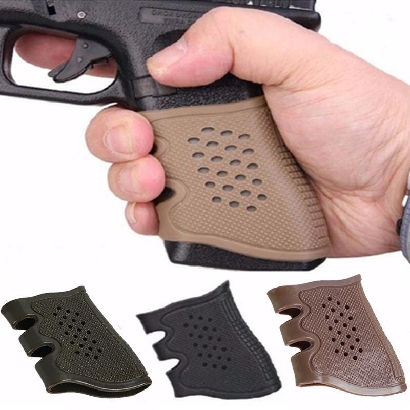 Taktische Holster Pistole Gummi Griffe Anti Slip Handschuh Für Glock ...