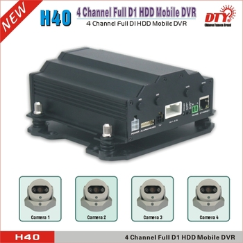 цена на 4 channel real time usb 2.0 school bus cctv system mobile dvr kits support 3G with 4 cameras, H40-3G mdvr +4 cameras
