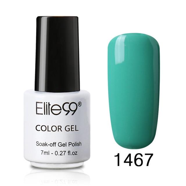 Elite99 7 ml Gel Nagellack Nail art UV Gel Bunte Gel Lack Lack Semi Permanent Wenig Flasche Vernis Wählen 1 von 58