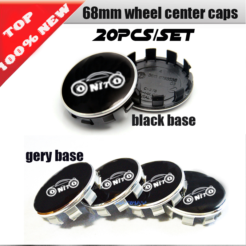 4 x BMW 68 mm Centre Caps Alliage Moyeu Roue Badges Emblèmes stickers 65 mm clips