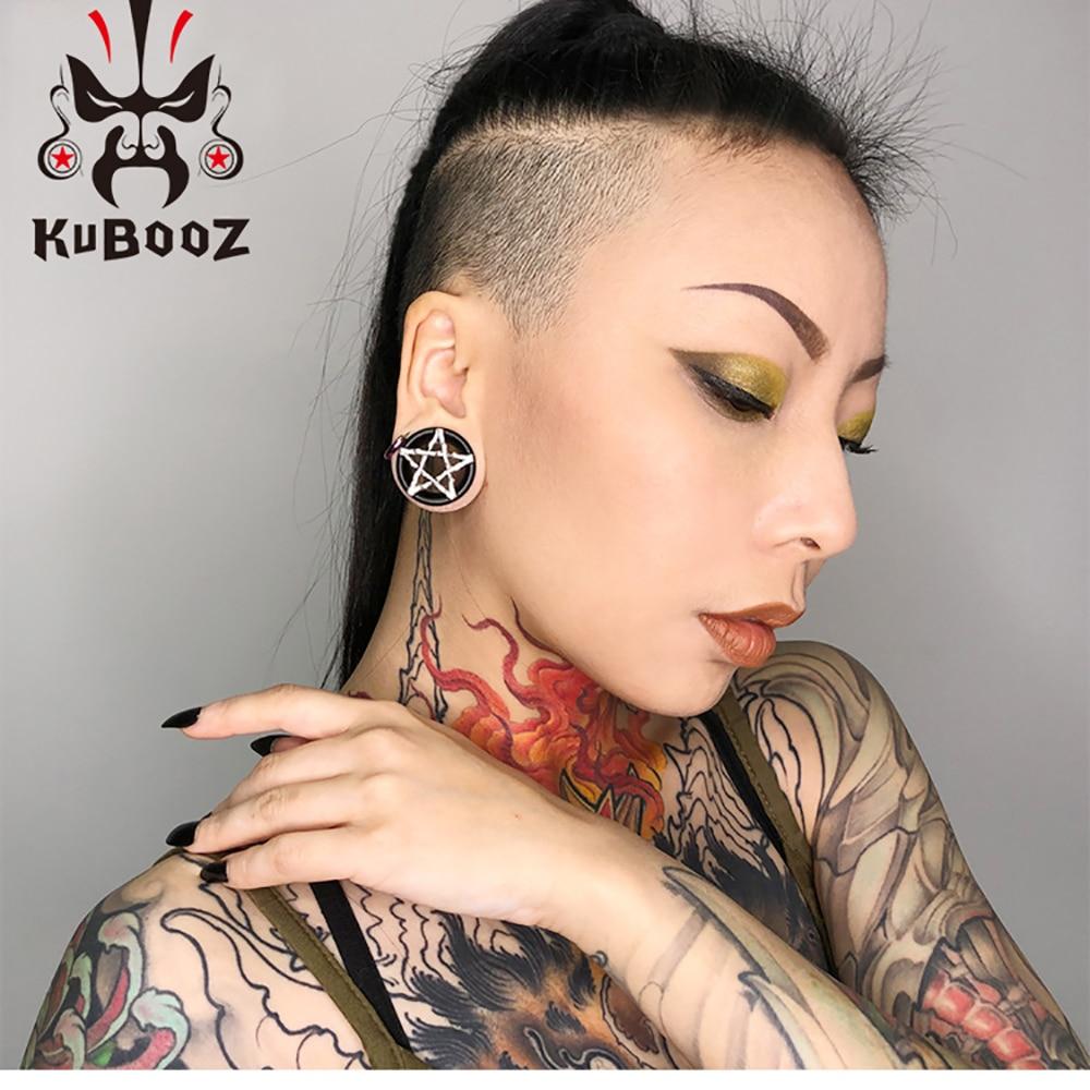 KUBOOZ Ear tunnel for Gift fashion jewelry plug