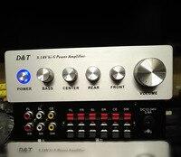 Высокая мощность 5.1 цифровой усилитель 6 канала звуковой усилитель для домашнего кинотеатра