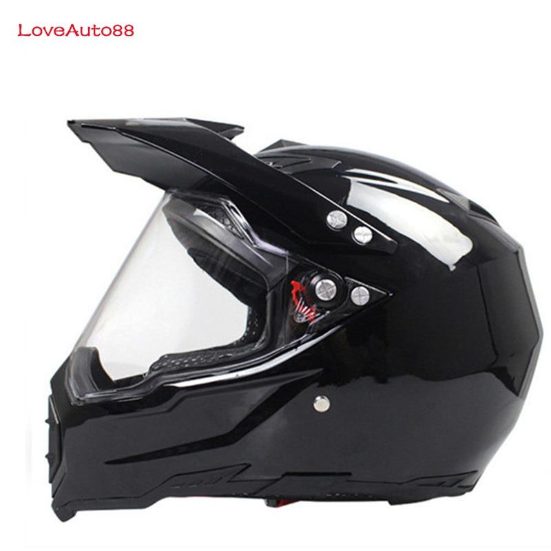 Image 4 - Full Face Motorcycle Helmet Professional Racing Helmet  motorcycle Adult motocross Off Road Helmet DOT Approved-in Helmets from Automobiles & Motorcycles