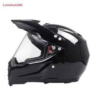 Image 4 - Full Face Motorcycle Helmet Professional Racing Helmet  motorcycle Adult motocross Off Road Helmet DOT Approved