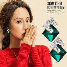 XIYANIKE 5 Colors 2017 New Hot Sale Squar Big Glass Full Rhi