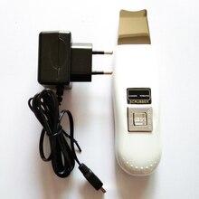 Ultrasonic Blackhead Pore deep Clean EU plug Skin Scrubber Face Cleansing Acne Remove SPA Peeling Machine Ultrasound Facial Tool