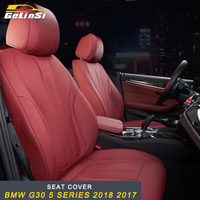 GELINSI Car seat cover trim accessories For BMW G30 5 series 2018 2017