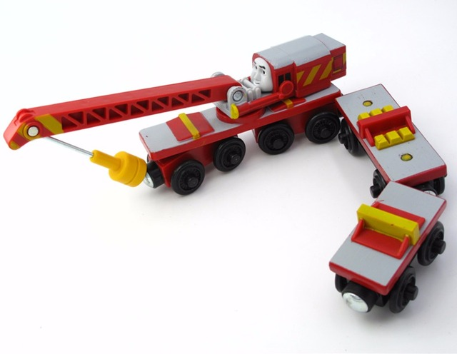 Us 380 Rare Rocky 2 Trucks Thomas And Friends Wooden Magnetic Railway Model Train Engine Boy Gift Children Track Toy In Diecasts Toy Vehicles