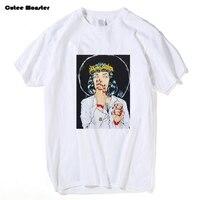 Virgin Mary Mia Wallace t-shirt Mannen Pulp Fiction Klassieke Filmposter T-shirt Mannelijke Quentin Tarantino Top Tees 3XL