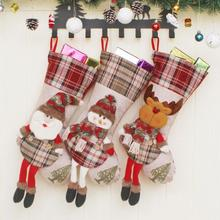 Christmas Tree Pendant Ornament Gift Socks Wish Bag Shopping Mall Layout Props Christmas Decorations A20
