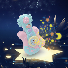 Baby Music Rattle Hand Drums Newborn Projection Toy Early Education Educational Toys Children Musical Instruments