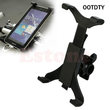 Portable Bicycle Bike Motorcycle Car Handlebar Mount Holder For iPad Tablet PC Stands Map Satnav D14